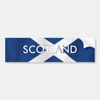 Flag of Scotland Bumper Sticker