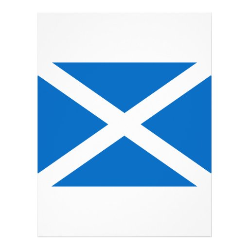 Flag of Scotland Custom Flyer