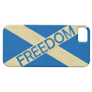 Flag of Scotland Freedom iPhone 5 Covers