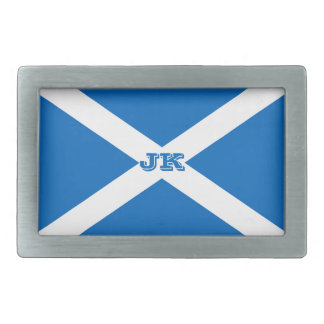 Flag of Scotland or Saltire Belt Buckle
