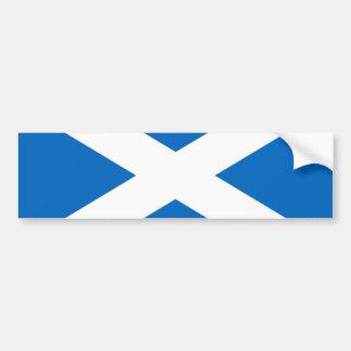 Flag of Scotland or Saltire Bumper Sticker