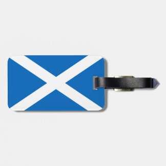 Flag of Scotland or Saltire Luggage Tag
