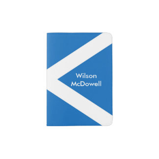 Flag of Scotland or Saltire Passport Holder