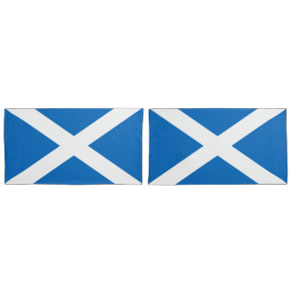 Flag of Scotland or Saltire Pillowcase