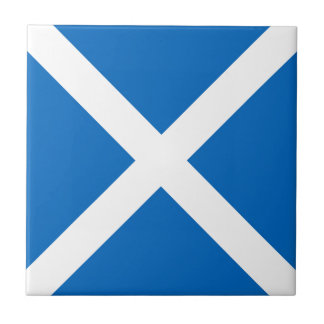 Flag of Scotland or Saltire Tile