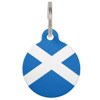 Flag of Scotland Pet ID Tag