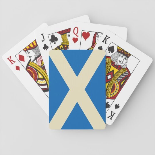 Flag of Scotland Playing Cards