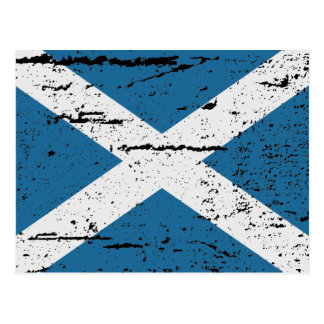 FLAG OF SCOTLAND POSTCARD