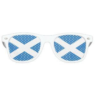 Flag of Scotland - Scottish Flag Retro Sunglasses