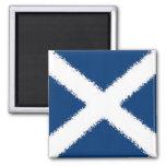 Flag of Scotland Square Magnet