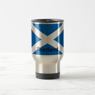 Flag of Scotland Travel Mug