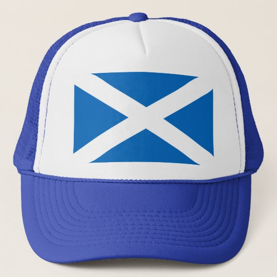 Flag of Scotland Trucker Hat