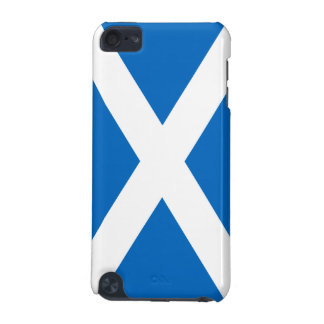 Flag of Scotland White Cross on Blue iPod 5G iPod Touch (5th Generation) Case