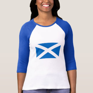 Flag of Scotland Women's Bella 3/4 Sleeve T-Shirt