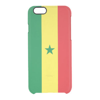 Flag of Senegal Clear iPhone Case