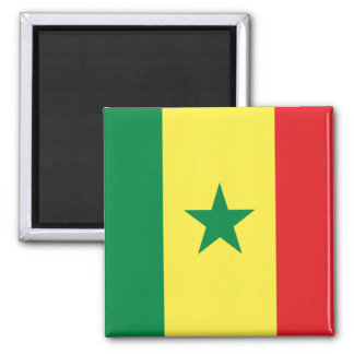 Flag of Senegal Magnet