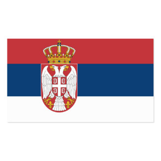 Flag of Serbia Business Cards