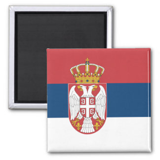 Flag of Serbia Magnet