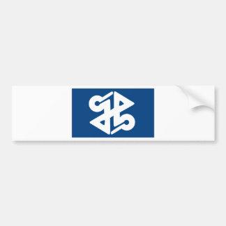 Flag of Shinjuku Bumper Sticker