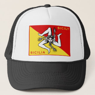 Flag of Sicily Trucker Hat
