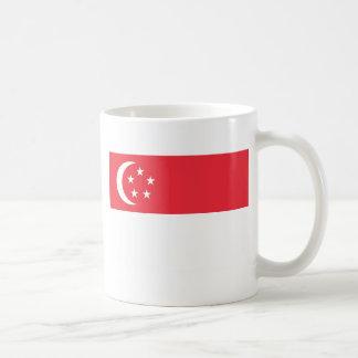 Flag of Singapore -  新加坡国旗 - Bendera Singapura Coffee Mug