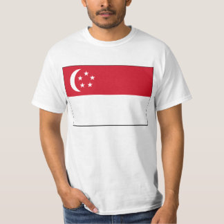 Flag of Singapore T Shirt