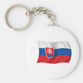Flag of Slovakia Key Ring