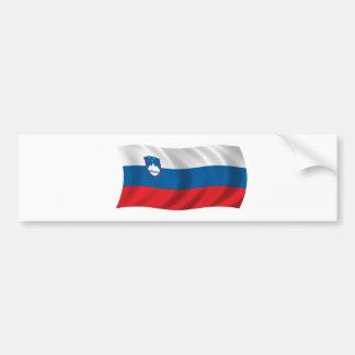 Flag of Slovenia Bumper Sticker
