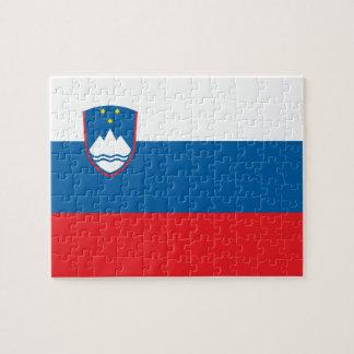 Flag of Slovenia Photo Puzzle