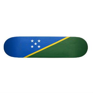 Flag of Solomon Islands Skateboard Deck