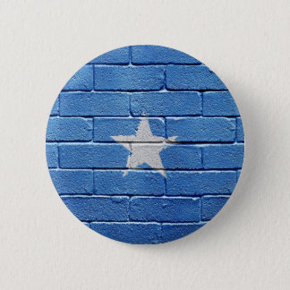 Flag of Somalia 6 Cm Round Badge