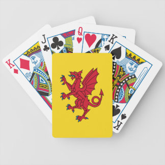 Flag of Somerset Bicycle Playing Cards