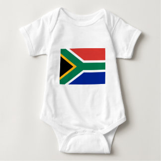 Flag of South Africa Baby Bodysuit