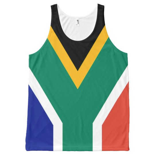 Flag of South Africa Bokke All-Over Print Tank