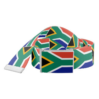 Flag of South Africa Bokke Belt