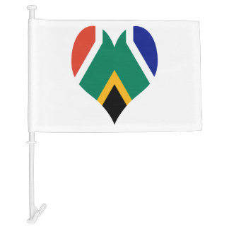 Flag of South Africa Bokke Car Flag