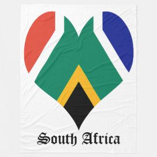 Flag of South Africa Bokke Fleece Blanket