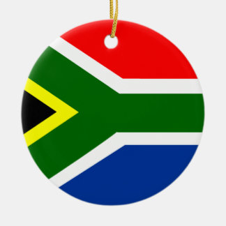 Flag of South Africa Christmas Ornament