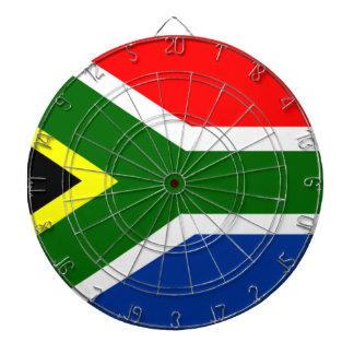 Flag of South Africa Dartboard