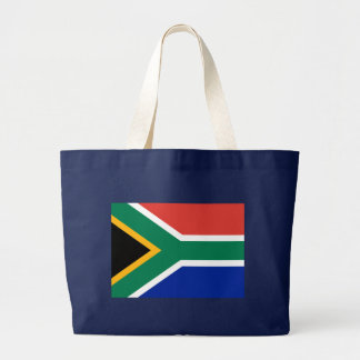 Flag of South Africa Large Tote Bag