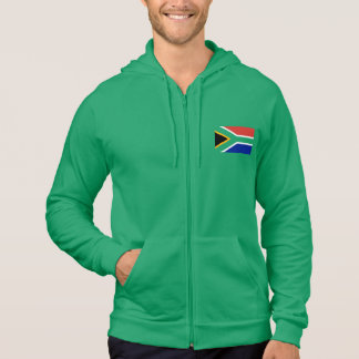 Flag Of South Africa On Green Sweatshirt