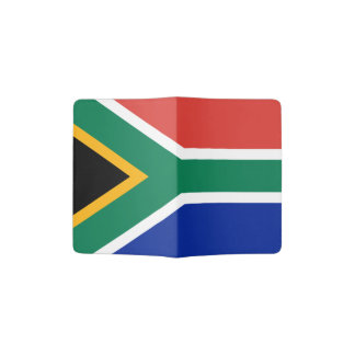 Flag of South Africa Passport Holder