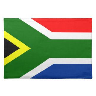 Flag of South Africa Placemat