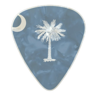 Flag of South Carolina Guitar Picks