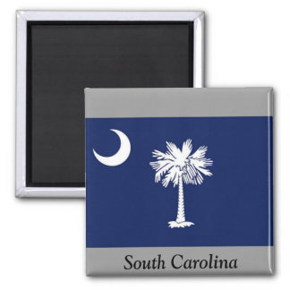 Flag of South Carolina Fridge Magnet