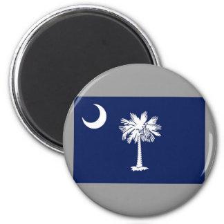 Flag of South Carolina Refrigerator Magnet