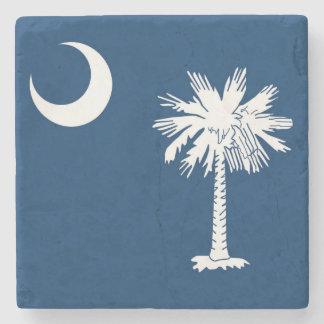 Flag of South Carolina Marble Coaster Stone Coaster