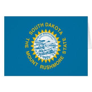 Flag of South Dakota Greeting Card