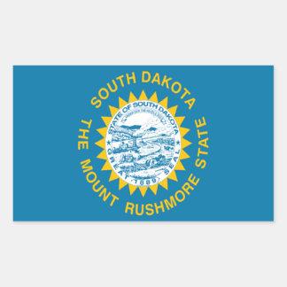 Flag of South Dakota Rectangular Sticker