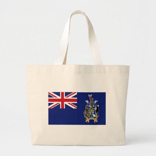 Flag of South Georgia Canvas Bag